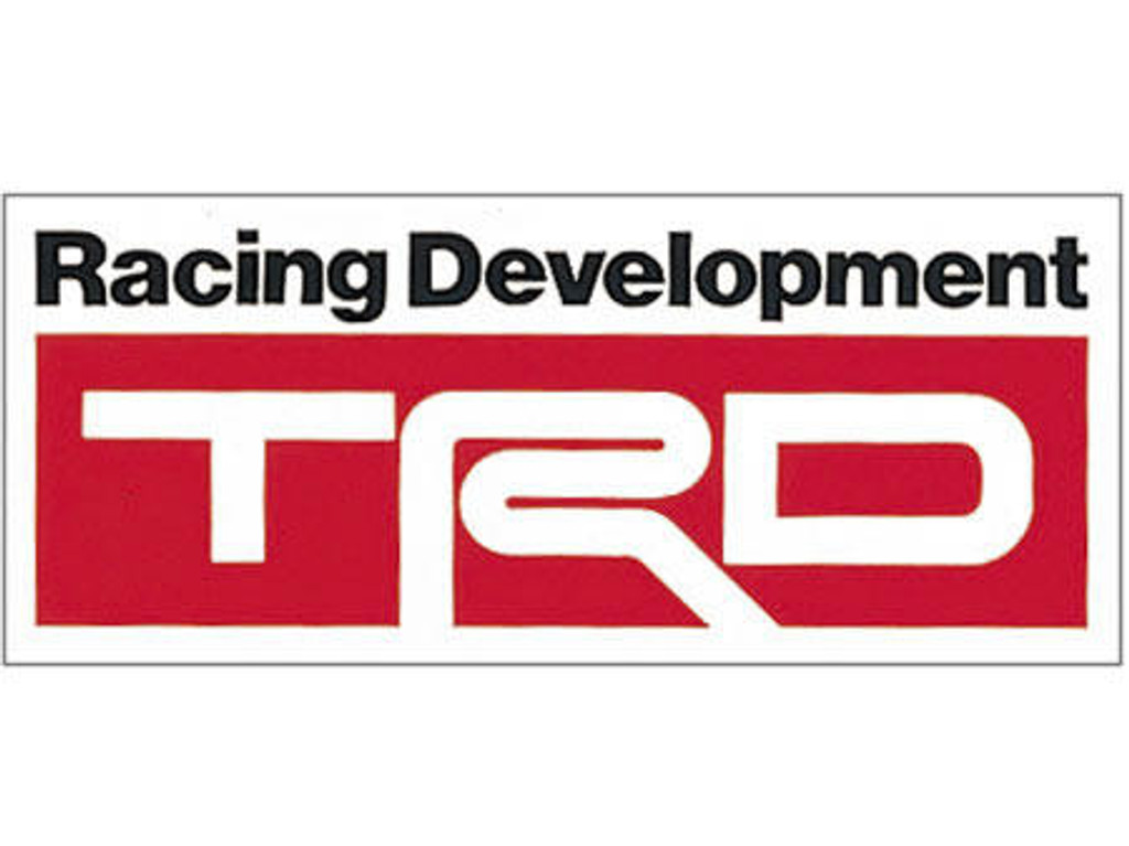 TRD Decal/Sticker 40x96mm - Part no. TO08231SP011B2
