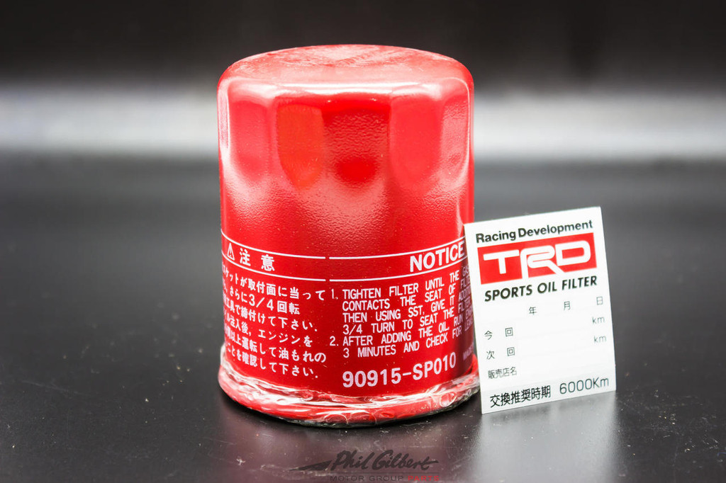TRD Oil Filter - Part no. TO90915SP010