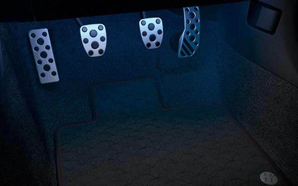 Interior illumination Kit - Blue LED - Part no. TOPZQ5133050