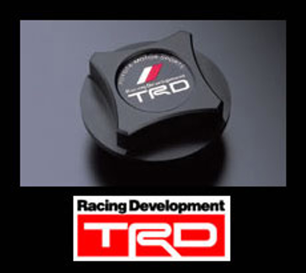 TRD Oil Filler Cap - Black Resin - Part no. TOMS11200001