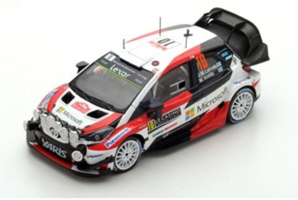 Toyota Yaris WRC Rally 1:14 Monte Carlo 2017 - #10 - Part no. NGS5163