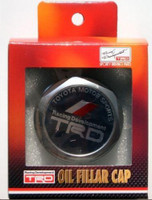 TRD Oil filler cap-Aluminum - Part no. TO12180SP002
