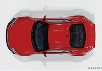 AutoArt Rocket Bunny Toyota 86 In Red/Silver Wheels 1:18 - Part no. NGA78757