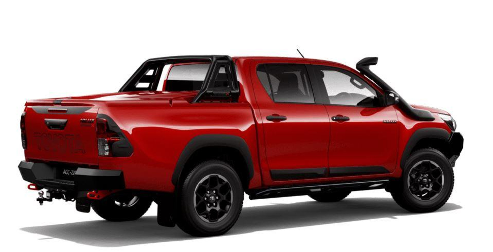 Rugged Series Hard Tonneau Cover Olympia Red 3t6 Part No Topzq7089900dq Phil Gilbert Toyota