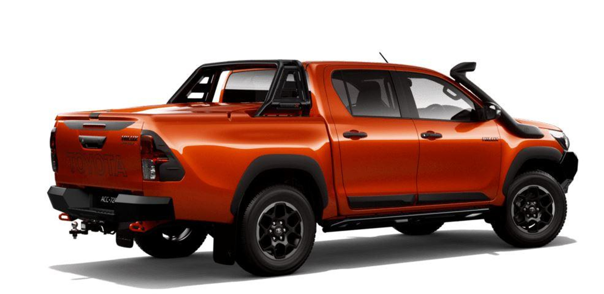 Rugged Series Hard Tonneau Cover Inferno Orange 4r8 Part No Topzq7089900ee Phil Gilbert Toyota