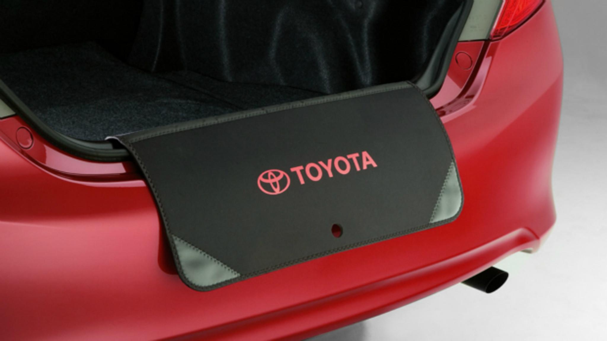 Autix Car Boot Liner for Toyota Corolla E10/Liftback BJ92/-38