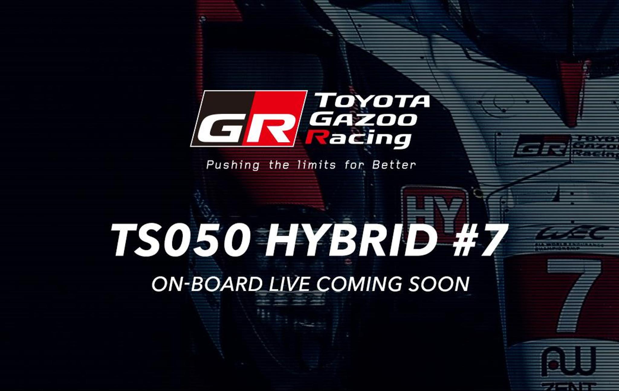 LIVE onboard with Toyota Gazoo Racing | Phil Gilbert Toyota