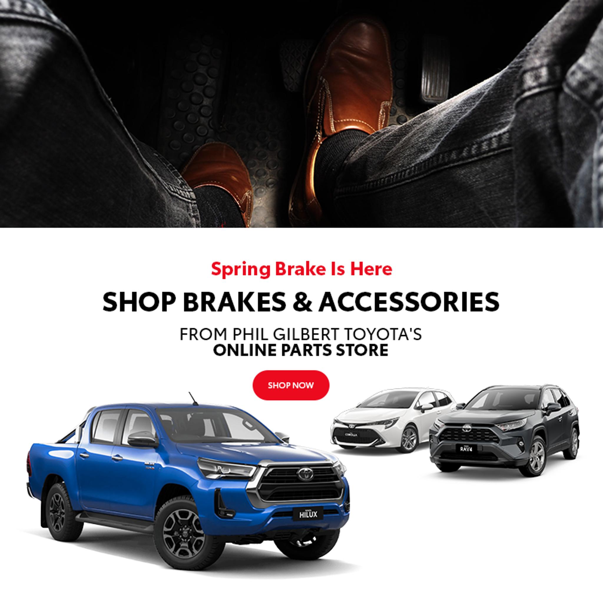 2020 Spring Brake Sale is here | Phil Gilbert Toyota