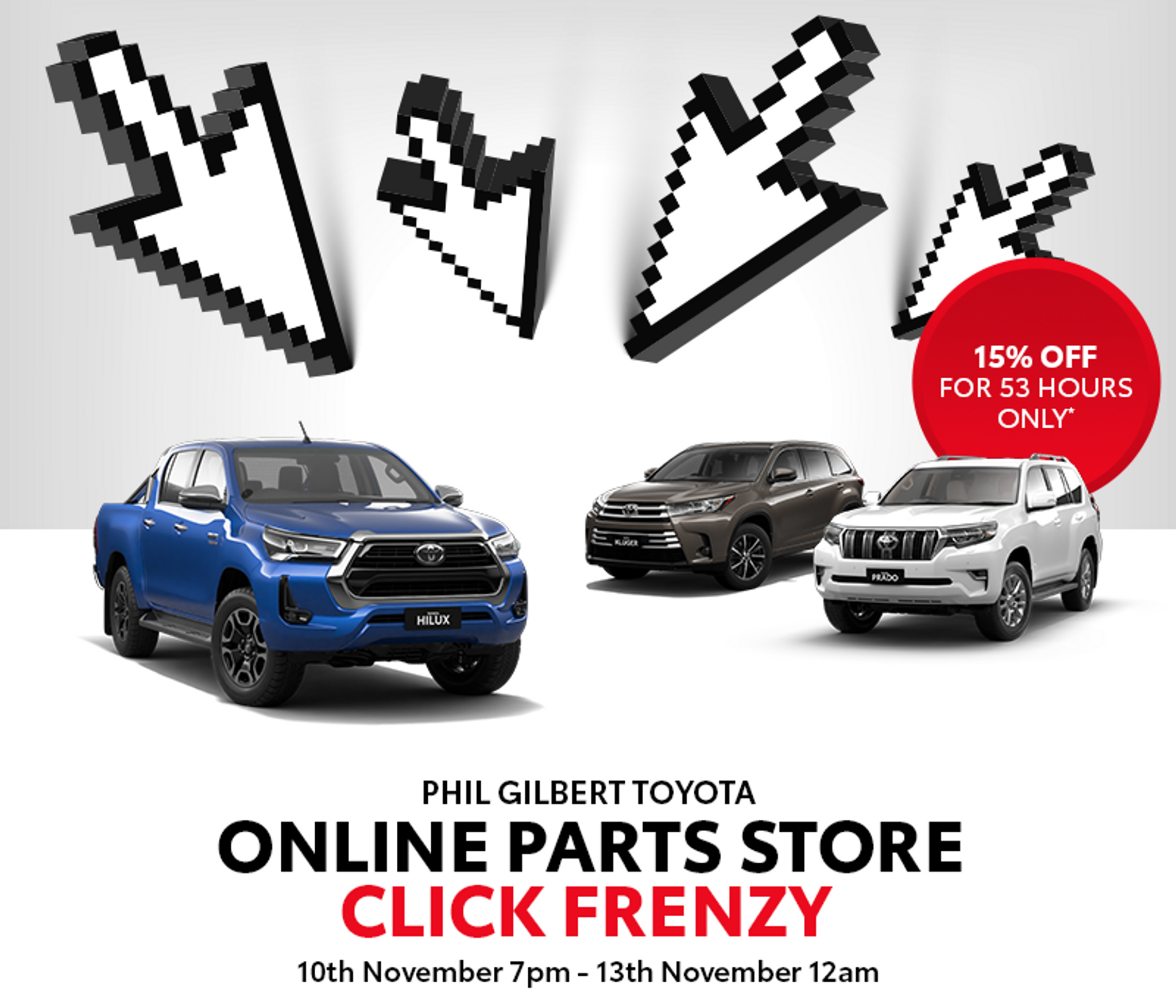 Click Frenzy   Phil Gilbert Toyota Parts