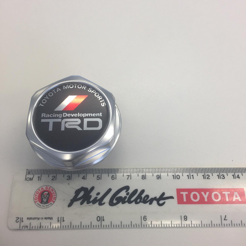 TRD Oil Filler Cap - One Touch Type - Part no. TO12180SP020