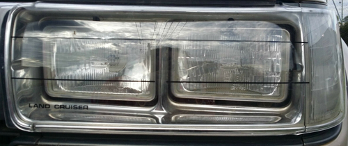 Headlight Covers - Part no. TO0881460010C
