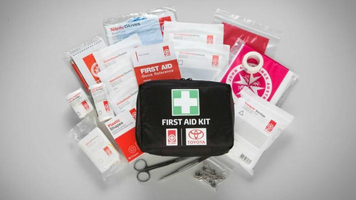 Genuine TOYOTA TUNDRA 5.7 4WD (USK56, USK57, USK55, USK75) 2006 on Personal First Aid kit - Part no. TOPZQ5100020_10125