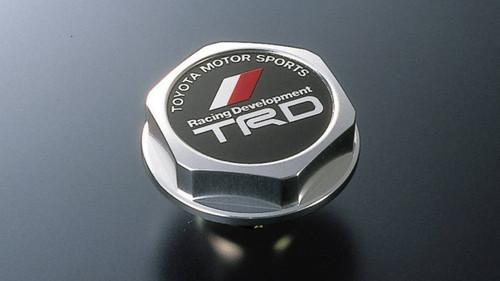 TRD Oil filler cap-Aluminum - Part no. TO12180SP002