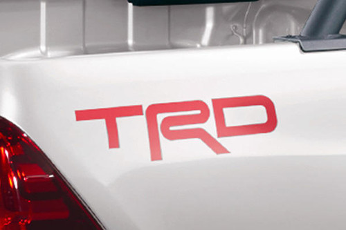 Genuine TRD Decal - Part no. TOMS3160K001