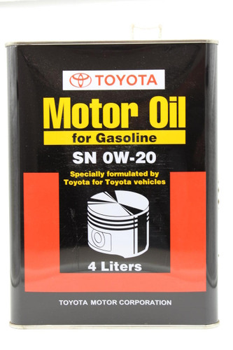 Petrol Engine Oil 0W-20 SN Sythetic - Part no. TO0888083709
