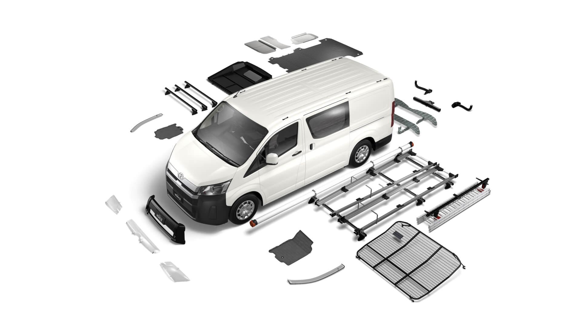 Toyota HiAce Accessories