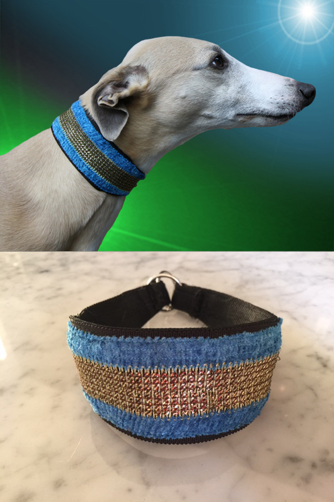 adored sky dancer whippet collar