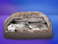 luxury cocoon whippet bed