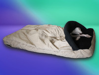 summer cocoon whippet bed cover