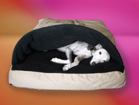 summer cocoon whippet bed cover front