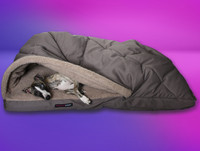 Kanga Pouch Luxury Whippet Bed 2