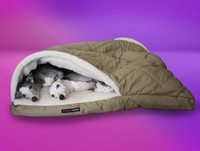 Double Whippet Bed Kanga Pouch