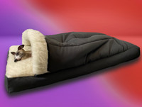 dreamtime cocoon whippet bed side