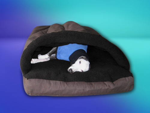 Cocoon whippet bed