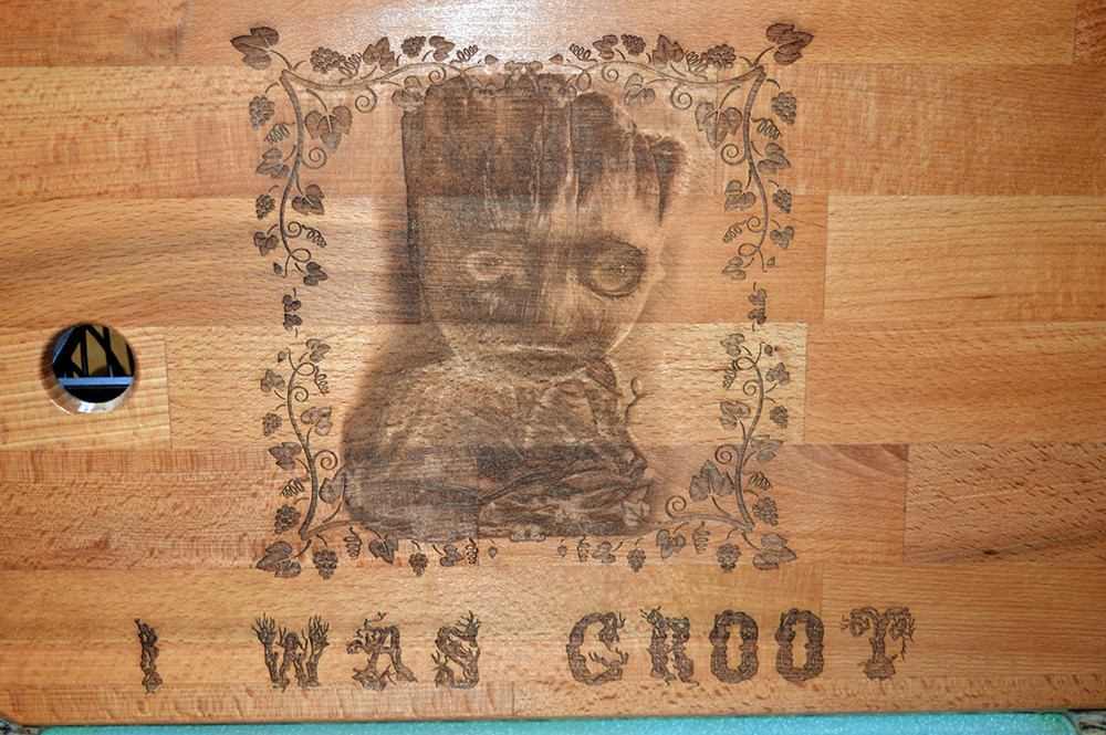 I was Groot Cutting Board