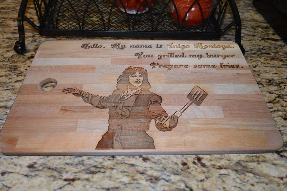 Princess Bride Cutting Board