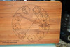 Dr Who Time Lord  Cutting Board