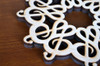 Treble Clef Trivet with optional set of four matching coasters