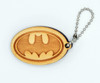 Batman birch laser cut keychain