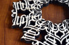 Life/Death Ambigram Trivet with optional set of four matching coasters