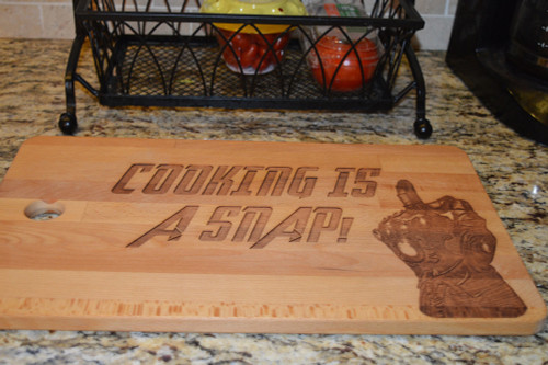 Cooking is a Snap Cutting Board