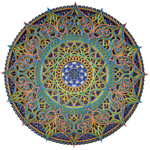 Large Intricate Mandala #18