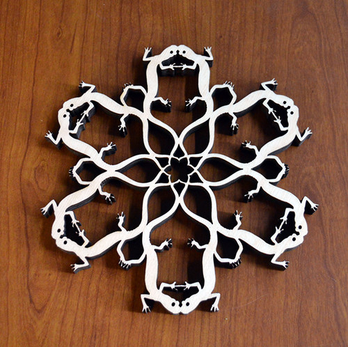 Salamander Trivet with optional set of four matching coasters