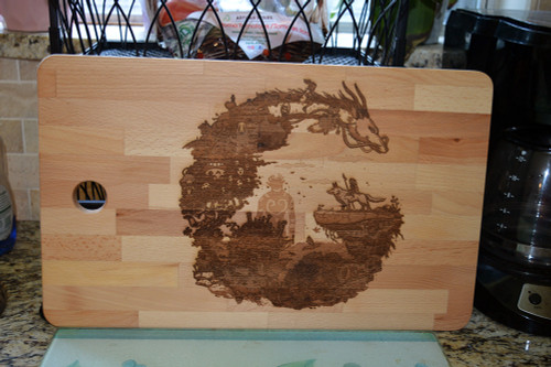 Studio Ghibli Cutting Board