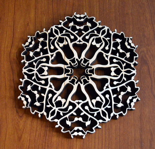Partridge in a Pear Tree Trivet with optional set of four matching coasters