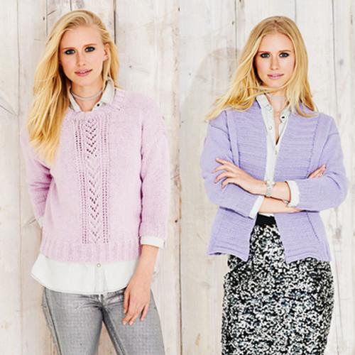Stylecraft Pattern 9492 - Sweater and Jacket