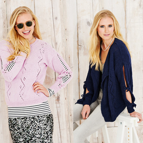 Stylecraft Pattern 9497 - Jacket and Sweater
