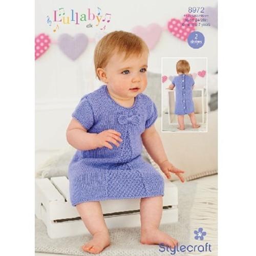 Stylecraft Pattern 8972 - Dresses