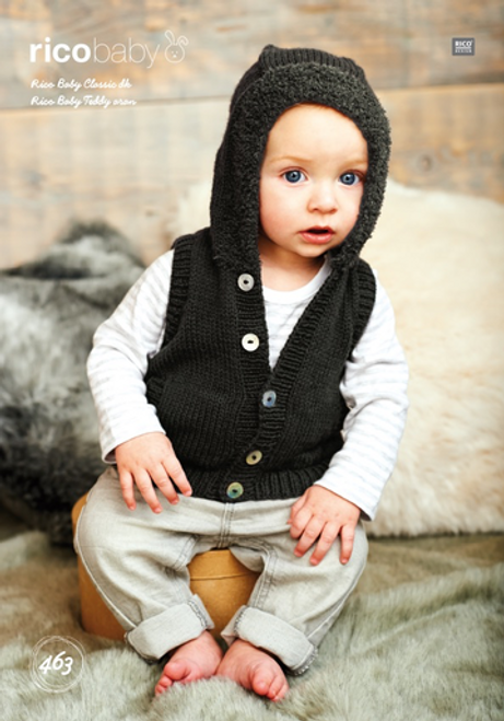 Rico Pattern 463 - Hooded Jacket and Gilet