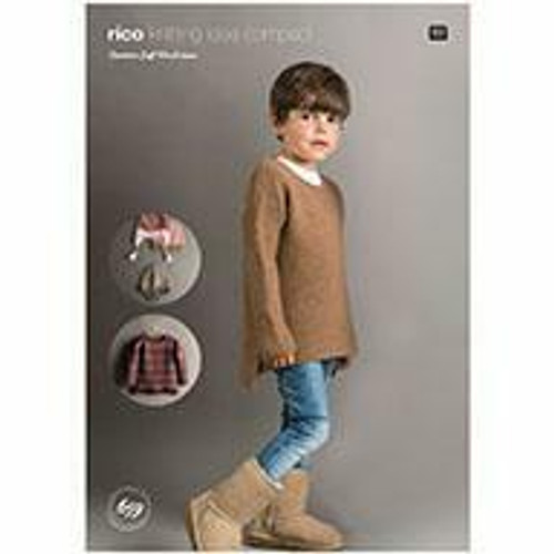 Rico Pattern 659 - Sweaters and Hat