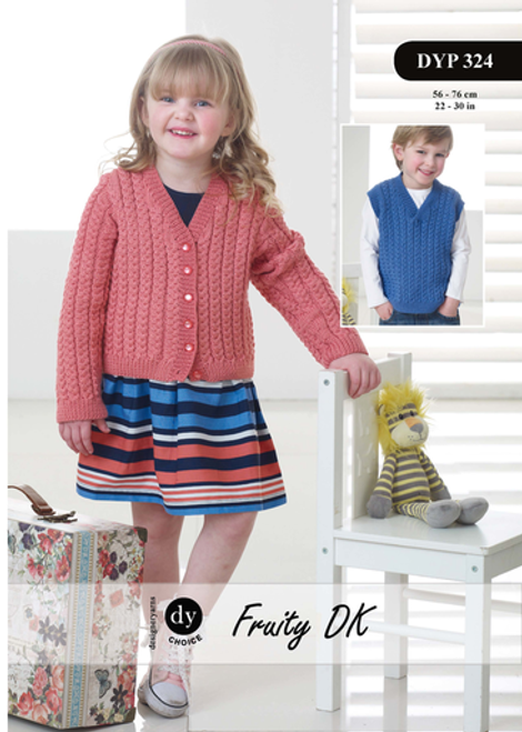 DY Choice Pattern 324 - Cardigan and Slipover