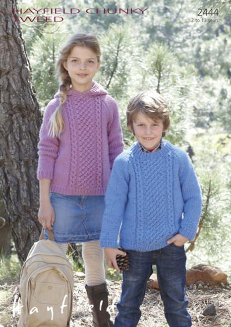 Hayfield Pattern 2444 - Sweaters