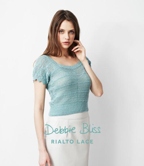Debbie Bliss Pattern - Sideways Knitted Sweater