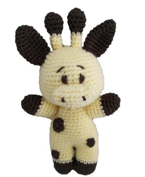 Crochet Pattern - Geeraff the Giraffe