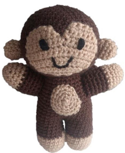 Crochet Pattern - Bananas the Monkey