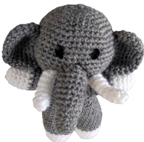 Crochet Pattern - Relly the Elephant